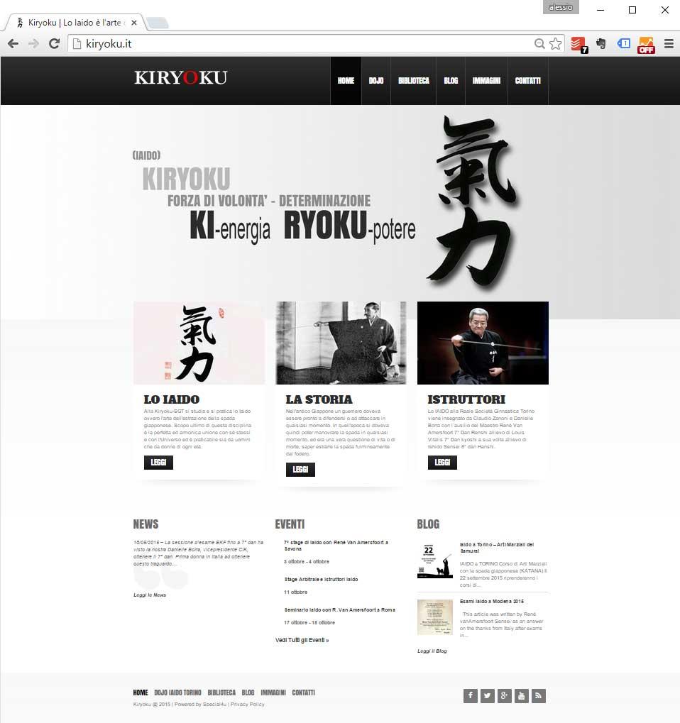 sito web arti marziali