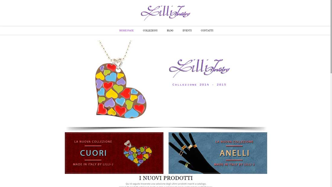 siti web bijoux