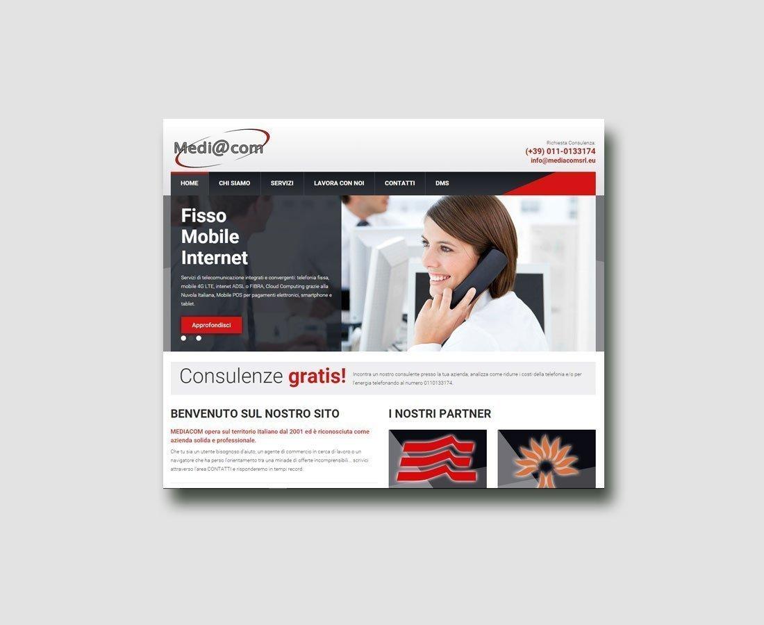 Sito Web Mediacom by Special4u