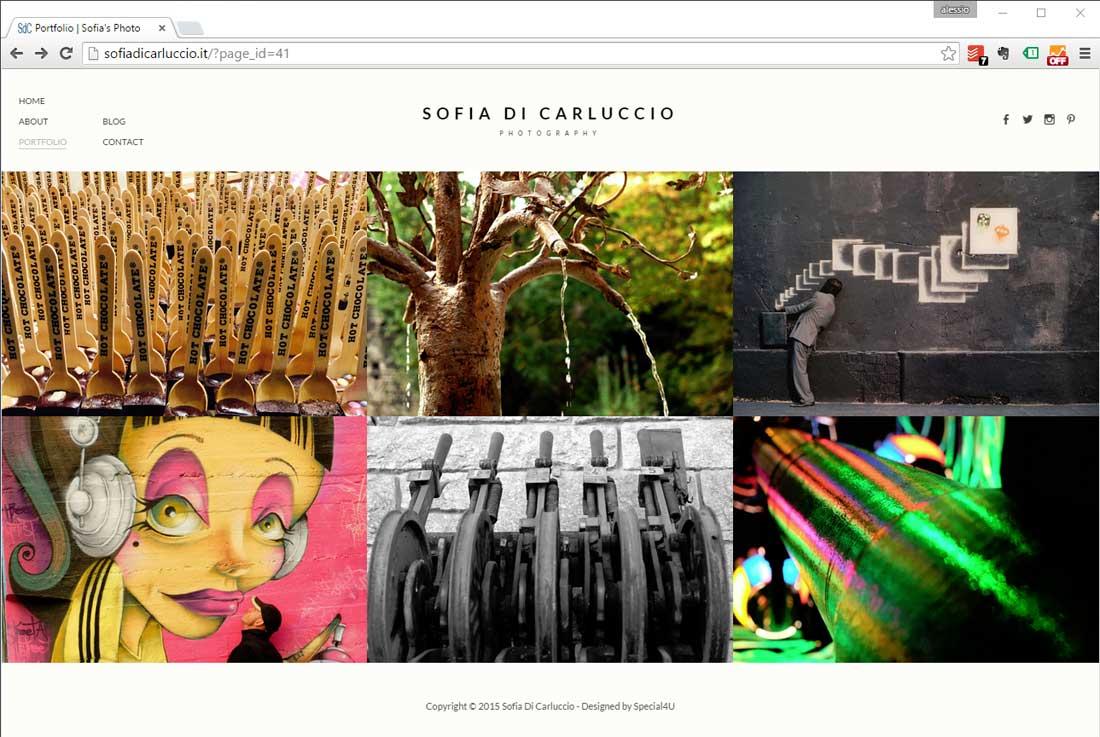 sito web fotografie