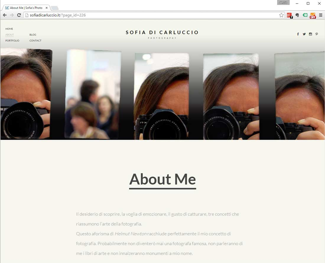 sito web foto