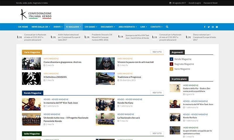 Confederazione Italiana Kendo Web Site