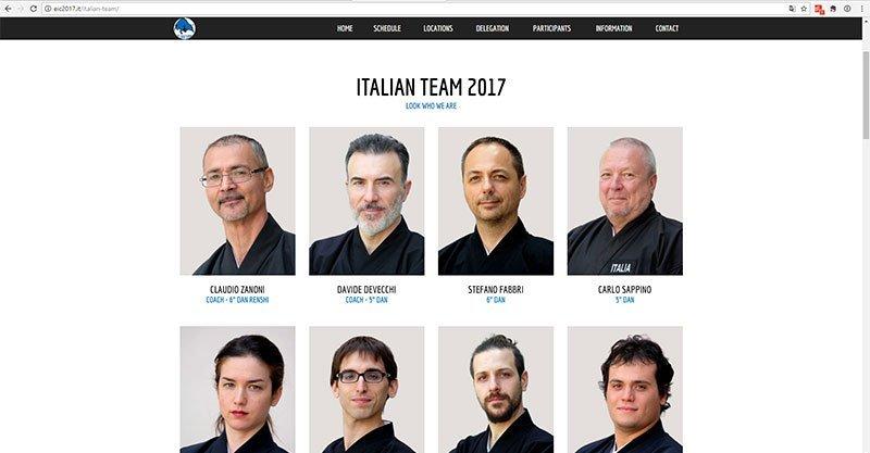 Campionati Europei di Iaido 2017