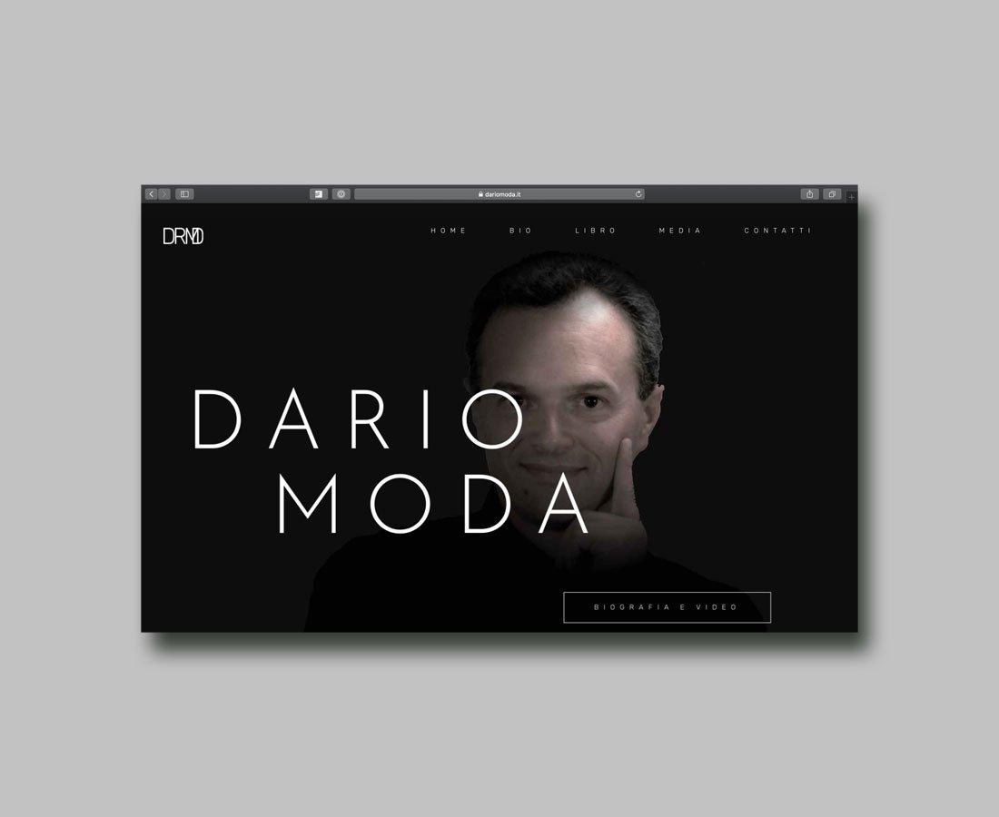 Portfolio Special4u: Sito Web di Dario Moda